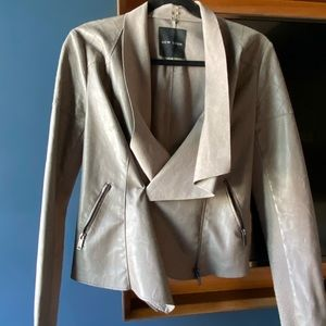 New Look Faux Leather Blazer